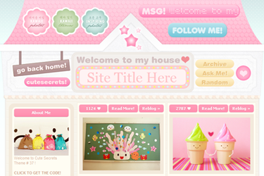 Images of Free Cute Tumblr Themes - #rock-cafe